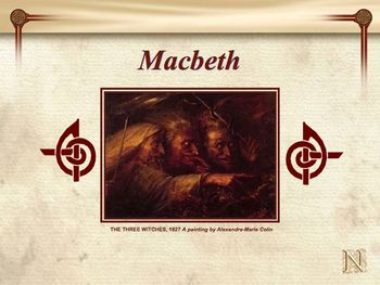 Macbeth Innovative PowerPoint CD Novel Unit by Simply Novel