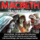 Macbeth: Notes, Characters, Quizzes, Prompts, PowerPoint,