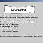 Macbeth Review: Quote Game (Demo)