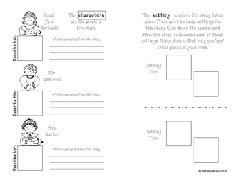 Macmillan/McGraw-Hill Treasures 3.1.1 graphic organizer