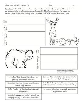 Macmillan/McGraw-Hill Treasures 3.1.3 graphic organizer