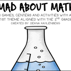 Mad About Math {7 Math Centers, Games and Activities}