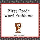 Mad Lib Word Problems Smartboard Slides