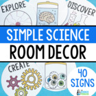Mad Scientist Room Decor