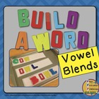 Magenetic Letters: Build A Word {Vowel Blends}
