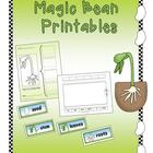 Magic Bean Printables (Lima Bean Fun)