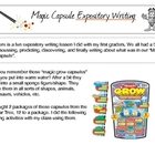 """Magic Capsule"" Expository Writing"