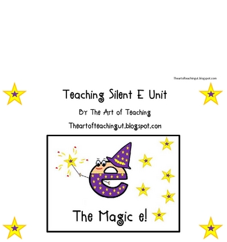 Magic E-Teaching Silent E Words