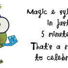 Magic E syllables in 5 minutes a day