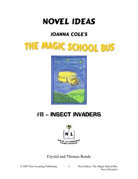 Magic School Bus Book #11 - A Literature and Science Conne