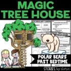 Magic Tree House #12 Polar Bears Past Bedtime Book Questions