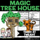 Magic Tree House #19 Tigers at Twilight Book Questions