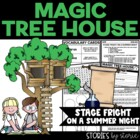 Magic Tree House #25 Stage Fright on a Summer Night Book Q