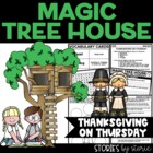 Magic Tree House #27 Thanksgiving on Thursday Book Questions