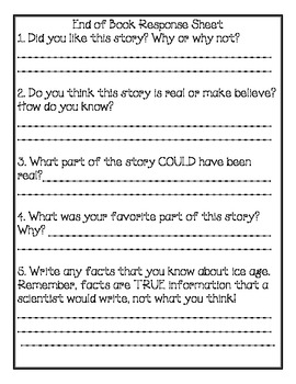 Magic Tree House #7 Comprehension Packet
