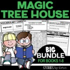 Magic Tree House Bundle (Questions &amp; Activities for Books 1-8)
