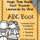 Magic Tree House Leonardo da Vinci's Class ABC Notebook