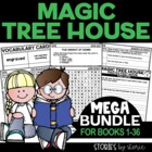 Magic Tree House MEGA Bundle (Questions & Activities for B