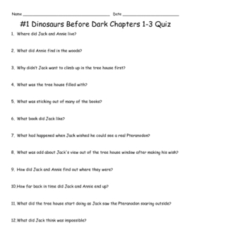 Magic Tree House VersaTile Quizzes