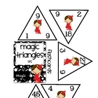 Magic Triangles: 9 (times tables)