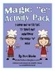 Magic &quot;e&quot; Activity Packet