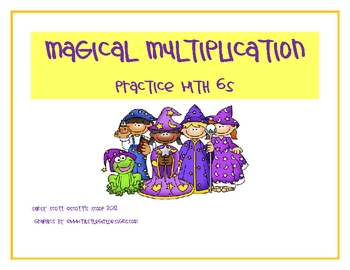 Magical Multiplication Cards