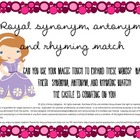 Magical Semantics: Synonym, Antonym and Rhyme Activity