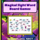 Magical Sight Word Board Game
