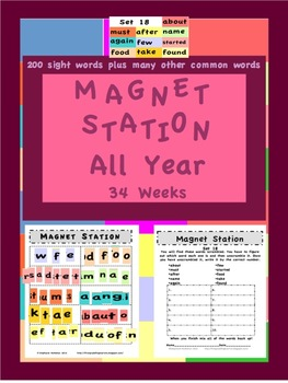 Magnet Station / Center All Year