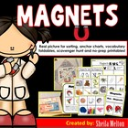 Magnets Magnetic and Non Magnetic {Science Picture Cards}