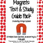 Magnets Test and Study Guide Pack