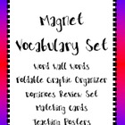 Magnets Vocabulary Bundle