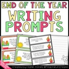 Magnificent May {End of the Year Writing Prompts for the C