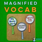 Magnified Vocabulary: Science