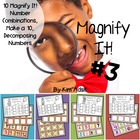 Magnify It #3! Center Games for Number Bonds and Numerals