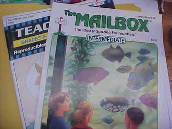 Mailbox Intermediate Apr/May 97, Teachers Helper, gr. 2-3