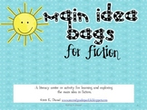 Main Idea Bags: Fiction {Lesson/Literacy Center for Main I