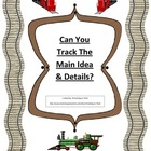Main Idea Common Core Standards Activity- Can You Track Th