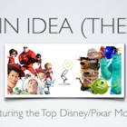 Main Idea - Featuring top Disney/Pixar Movies