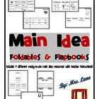 Main Idea Foldables & Flapbooks (Includes 7 Different Prin