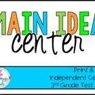 Main Idea Literacy Center - Which detail doesn't support t