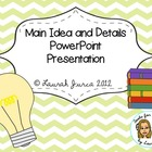 Main Idea &amp; Summarizing Powerpoint Presentation
