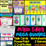Main Idea & Support. Details BUNDLE: Craftivities, PPT, Wo