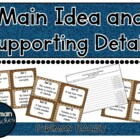 Main Idea Supporting Details - Sort