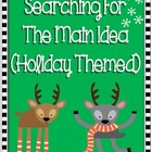 Main Idea and Details: Holiday Themed (Common Core)