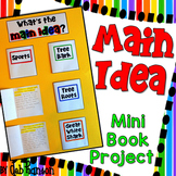 Main Idea and Details Mini Booklets