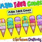 Main Idea and Details craftivity (matching the main idea a