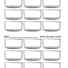 Main events worksheet - two per page