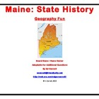 Maine Board Game