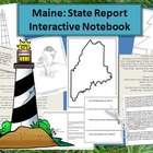 Maine: State Study Interactive Notebook